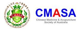 澳大利亚中医针灸学会Chinese Medicin